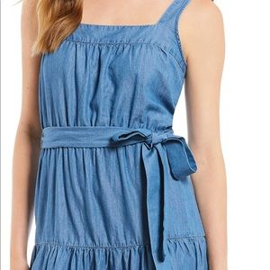 bedbe1b856 MICHAEL Michael Kors Dresses - Michael Michael Kors chambray denim maxi  dress